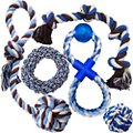 Otterly Pets Assorted Medium to Large Rope Dog Toys, 5 count