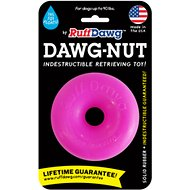 Ruff Dawg Indestructible Dawg Nut Dog Toy, Color Varies, Regular