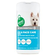GNC Pets Dog Essentials Eye & Face Care Tear Stain Wipes, 50 count