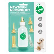 GNC Pets Newborn Nursing Kits for Puppy & Kitten Milk Replacers
