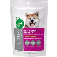 GNC Pets Ultra Mega Hip & Joint Health Chicken Flavor Mini Bones Dog Supplement, 60 count