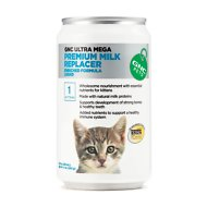 GNC Pets Ultra Mega Premium Milk Replacer Kitten Liquid Formula, 8-oz can