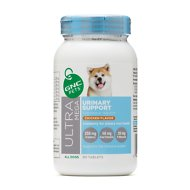 GNC Pets Ultra Mega Urinary Support Chicken Flavor Chewable Tablets Dog Supplement, 90 count