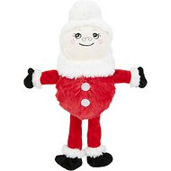 Hyper Pet Holiday Bumpy Palz Dog Toy, Mrs. Santa
