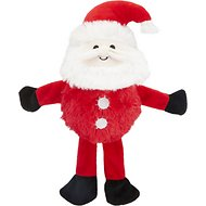 Hyper Pet Holiday Bumpy Palz Dog Toy, Santa
