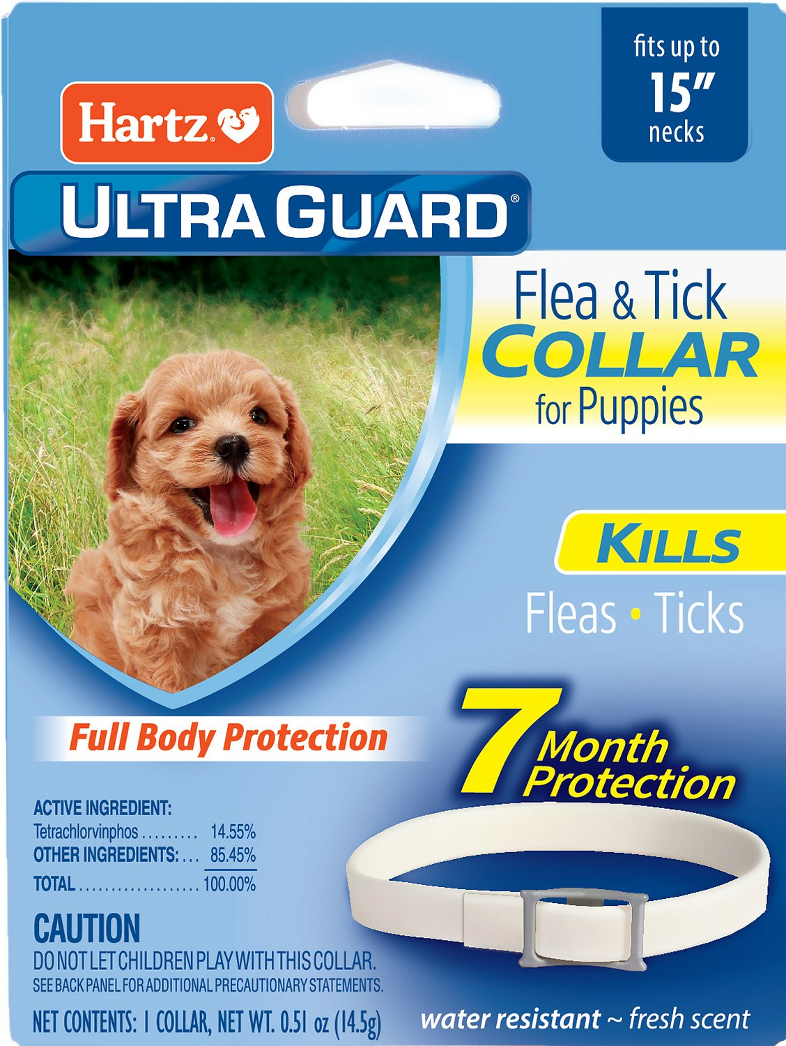 Hartz Ultraguard Flea Tick Collar For Puppies 1 Count Chewycom