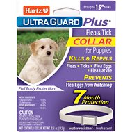 Hartz UltraGuard Plus Flea & Tick Collar for Puppies, 1 count