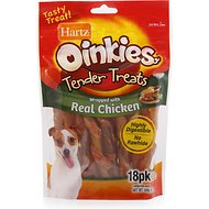 Hartz Oinkies Tender Treats with Chicken Dog Treats