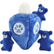 ZippyPaws Burrow Squeaky Hide & Seek Plush Dog Toy, Hanukkah Dreidel
