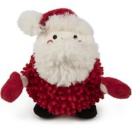 GoDog Holiday Mopz Chew Guard Santa Dog Toy