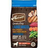 Merrick Grain-Free Large Breed Real Chicken & Sweet Potato Recipe Dry Dog Food, 25-lb bag