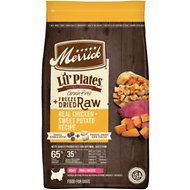 Merrick Lil' Plates Grain-Free Chicken & Sweet Potato Recipe with Freeze-Dried Raw Bites Dry Dog Food, 4-lb bag