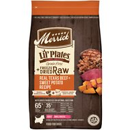 Merrick Lil' Plates Grain-Free Beef & Sweet Potato Recipe with Freeze-Dried Raw Bites Dry Dog Food, 4-lb bag