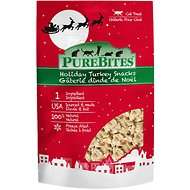 PureBites Holiday Turkey Freeze-Dried Cat Treats, 0.81-oz bag