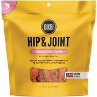 BIXBI Hip & Joint Salmon Jerky Grain-Free Dog Treats, 10-oz bag