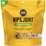 BIXBI Hip & Joint Chicken Jerky Dog Treats, 12-oz bag