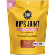 BIXBI Hip & Joint Salmon Jerky Grain-Free Dog Treats, 4-oz bag