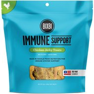 BIXBI Immune Support Chicken Jerky Dog Treats, 12-oz bag