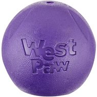 West Paw Echo Collection Rando Dog Toy, Large, Eggplant