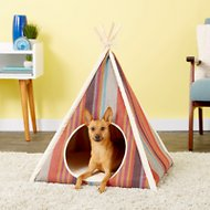 P.L.A.Y. Pet Lifestyle and You Horizon Dog & Cat Teepee Tent, Desert