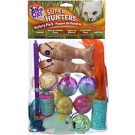 Hartz Just for Cats Super Hunters Variety Pack Cat Toy