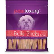 "Pawluxury Bully Sticks 4 - 7"" Dog Treats"