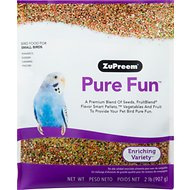 ZuPreem Pure Fun Enriching Variety Small Bird Food, 2-lb bag