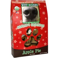 Wet Noses Season's Greetings Apple Pie Dog Treats, 14-oz box