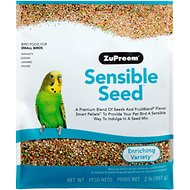ZuPreem Sensible Seed Enriching Variety Small Bird Food, 2-lb bag