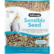 ZuPreem Sensible Seed Enriching Variety Medium Bird Food, 2-lb bag