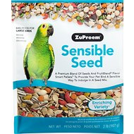 ZuPreem Sensible Seed Enriching Variety Large Bird Food, 2-lb bag