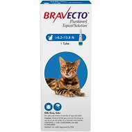 Bravecto Topical Solution for Cats, 6.2-13.8 lbs, 1 treatment