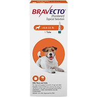 Bravecto Topical Solution for Dogs, 9.9-22 lbs, 1 treatment