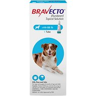 Bravecto Topical Solution for Dogs, 44-88 lbs, 1 treatment