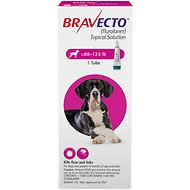 Bravecto Topical Solution for Dogs, 88-123 lbs, 1 treatment