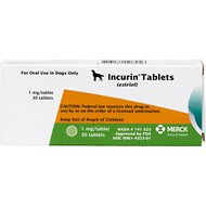 Incurin (Estriol) Tablets for Dogs, 1-mg, 30 tablets