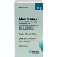 Mometamax (Gentamicin / Mometasone / Clotrimazole) Otic Suspension for Dogs, 15-g