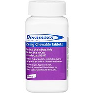 Deramaxx Chewable Tablets for Dogs, 75-mg, 1 tablet