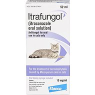 Itrafungol Oral Solution for Cats, 10 mg/mL, 52-mL