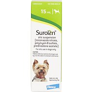 Surolan Otic Suspension for Dogs, 15-mL