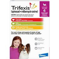Trifexis Chewable Tablets for Dogs, 5-10 lbs, 6 treatments