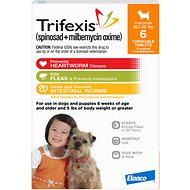 Trifexis Chewable Tablets for Dogs, 10.1-20 lbs, 6 treatments