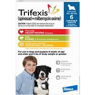 Trifexis Chewable Tablets for Dogs, 40.1-60 lbs, 6 treatments