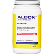 Albon Tablets for Dogs & Cats, 500-mg, 1 tablet