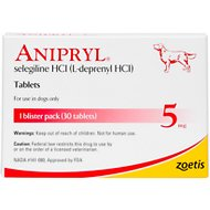 Anipryl (Selegiline HCl) Tablets for Dogs, 5-mg, 30 tablets