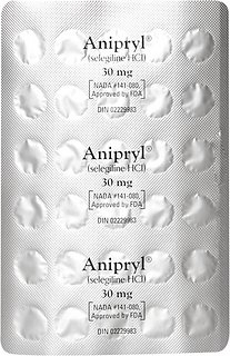 Anipryl (Selegiline HCl) Tablets for Dogs, 10-mg, 30 tablets