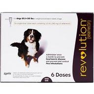 Revolution Topical Solution for Dogs, 86-130 lbs, 6 treatments