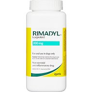 Rimadyl (Carprofen) Chewable Tablet for Dogs, 100-mg, 1 chewable tablet
