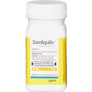 Zeniquin Tablets for Dogs & Cats, 25-mg, 1 tablet