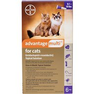 Advantage Multi Topical Solution for Cats, 9.1-18 lbs (Purple Box)